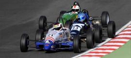 Under pressure at Brands Hatch (photo courtesy of Jeff Bloxham).
