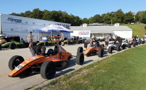 An impressive group contested a shootout with the Lucas Oil School of Racing and Cooper Tires at Road America.