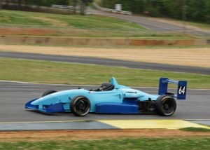 "My first race weekend in a ""wings and slicks"" car."