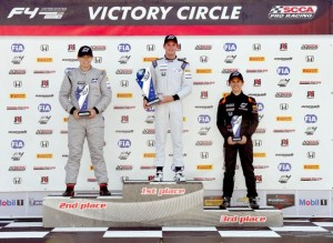 Being back on the podium was a tremendous feeling.