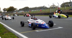 Kirkwood on the grid at Brands Hatch.