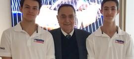 Mr. Gian Paolo Dallara was kind enough to greet us.