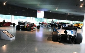 The Dallara museum in Italy.