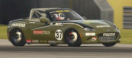 I scored my first MX-5Cup eSeries top-five finish at Mid-Ohio.