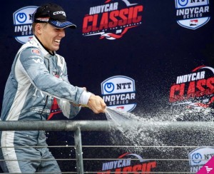 I couldn't have been happier after my first Indy Lights win.
