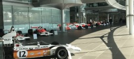 A glimpse of McLaren, past and present