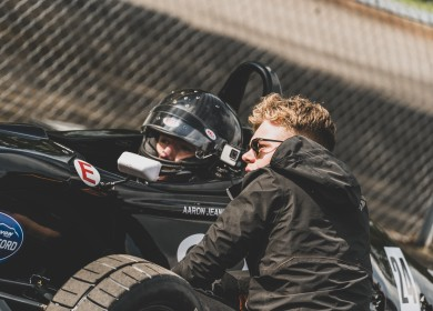 Josh Smith, who drove this car to victory at the Formula Ford Festival last year has been a big help (RichardTowler.com).