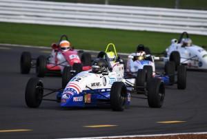 Intense action at Silverstone (Jeff Bloxham photo).