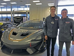 One of our tours was to McLaren GT.