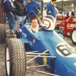 Jimmy Vasser at Brands Hatch in 1990