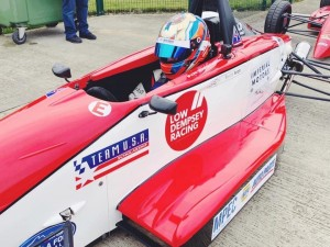 The full Team USA livery will be unveiled at the Formula Ford Festival in two weeks' time.