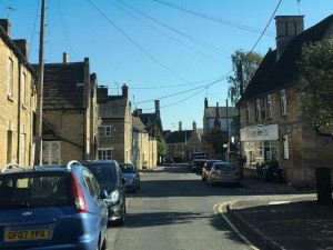 The quaint village of Brigstock, home to the Dempseys.