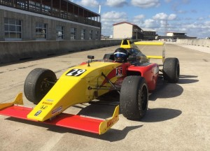 Group A's F4 car was a blast to drive.