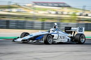 The Index Dallara-AER IL-15 was fast in Texas!