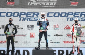 A podium at Road America was a great way to start the USF2000 season with Cape Motorsports (Road to Indy photo).