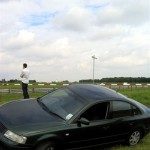 Spectating at Snetterton