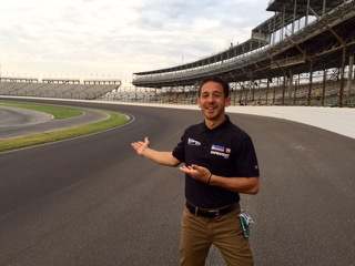 Turn One at Indy. This is what it's all about.