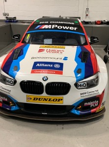 Colin Turkington's BTCC championship-winning BMW.