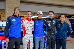 Dakota Dickerson and I spent time with the Honda F1 team at COTA.