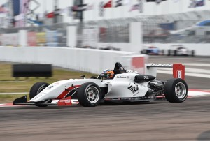 A winning USF2000 debut at St. Petersburg.