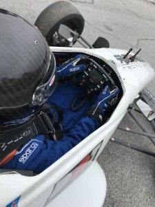 I'm excited about making my F2000 debut this weekend