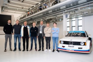 I'm so excited to be a part of the new BMW Junior Team.