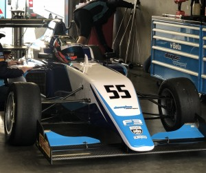 Douglas Motorsport's British F3 car was awesome!